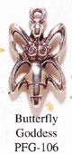 Silver GODDESSES - Butterfly Goddess