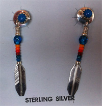 Bead ear rings