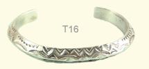 Plain bangle