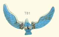 Turquoise hinged eagle